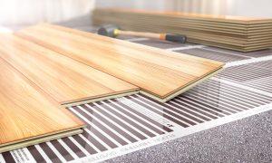 infrarood vloerverwarming met laminaat